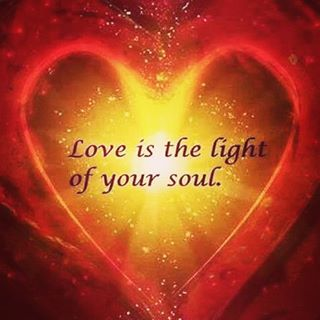 Love is the light